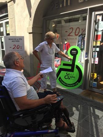 Actions accessibilité les 9 & 15 septembre 2016