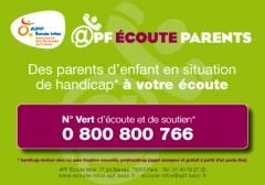 apf écoute parents, handicap, handicap moteur