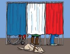 apf aude,dd11,délégation départementale apf de l'aude,élections 2017,droit de vote,vote des personnes handicapées,handicap moteur